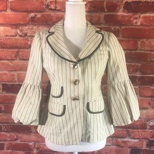Nanette Lepore Blazer Jacket Sz 4 (O20)